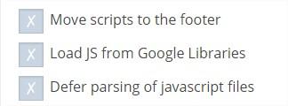 Speed Booster Options ‹ KLEO — WordPress - Google Chrome