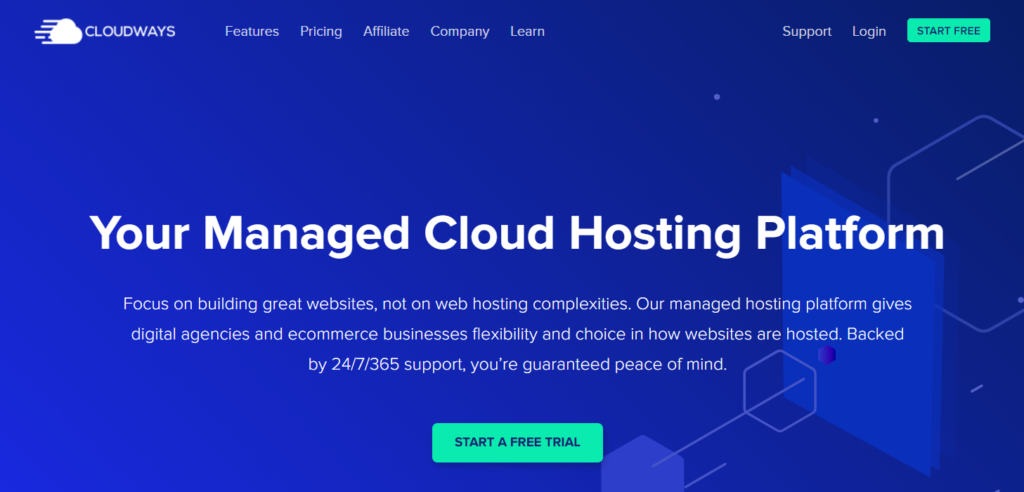 Clouways WordPress hosting